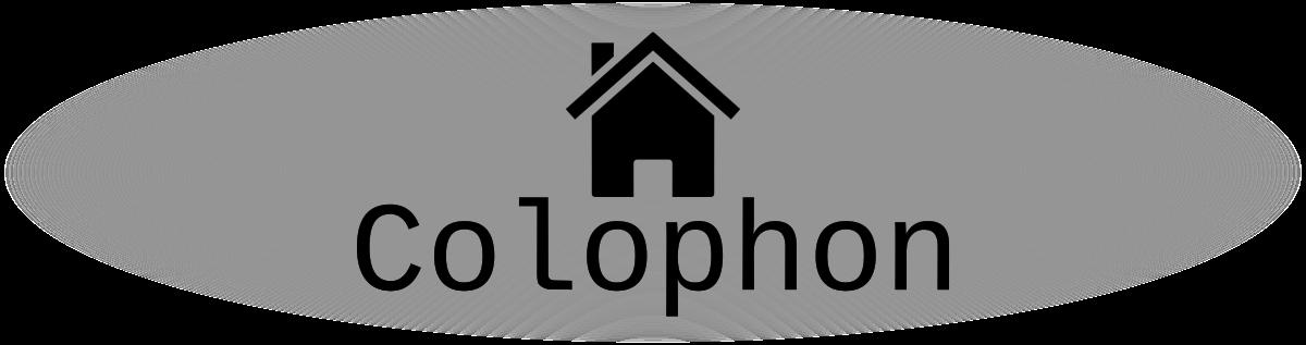 colophon